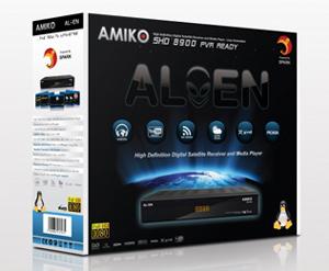 Amiko SHD-8900 Alien коробка