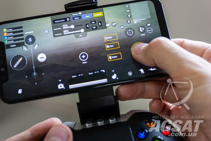 налаштувати геймпад в pubg mobile