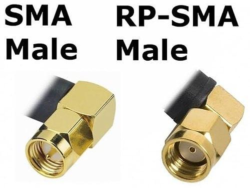 SMA male и RP-SMA Male