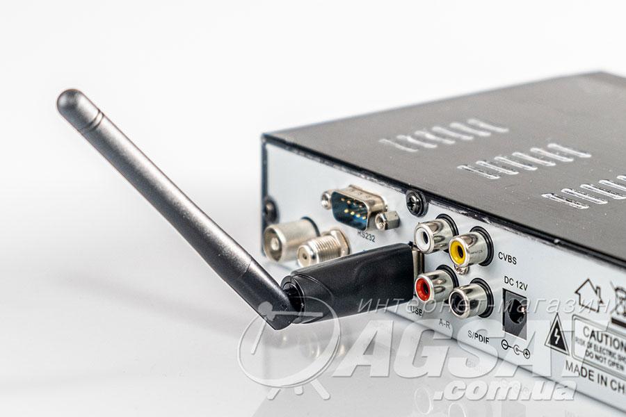 Подключение USB Wi-Fi адаптера к ресиверу