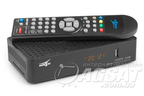 Romsat RS-300 - цифровой эфирный DVB-T2 ресивер.