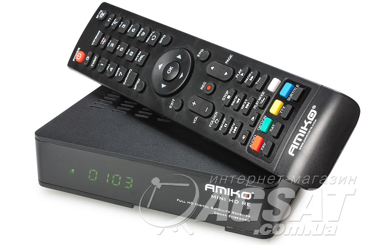 спутниковый ресивер Amiko Mini Hd Re цена 995 грн купить Amiko