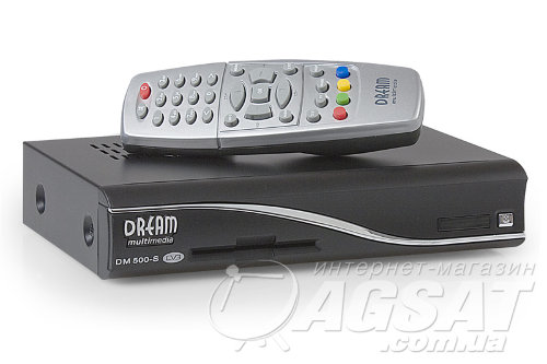 Спутниковый ресивер Dreambox DM 500S: цена, купить Dreambox 500.