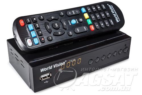 DVB-T2 ресивер World Vision T62A: цена 384 грн., купить World Vision T62A в Киеве.