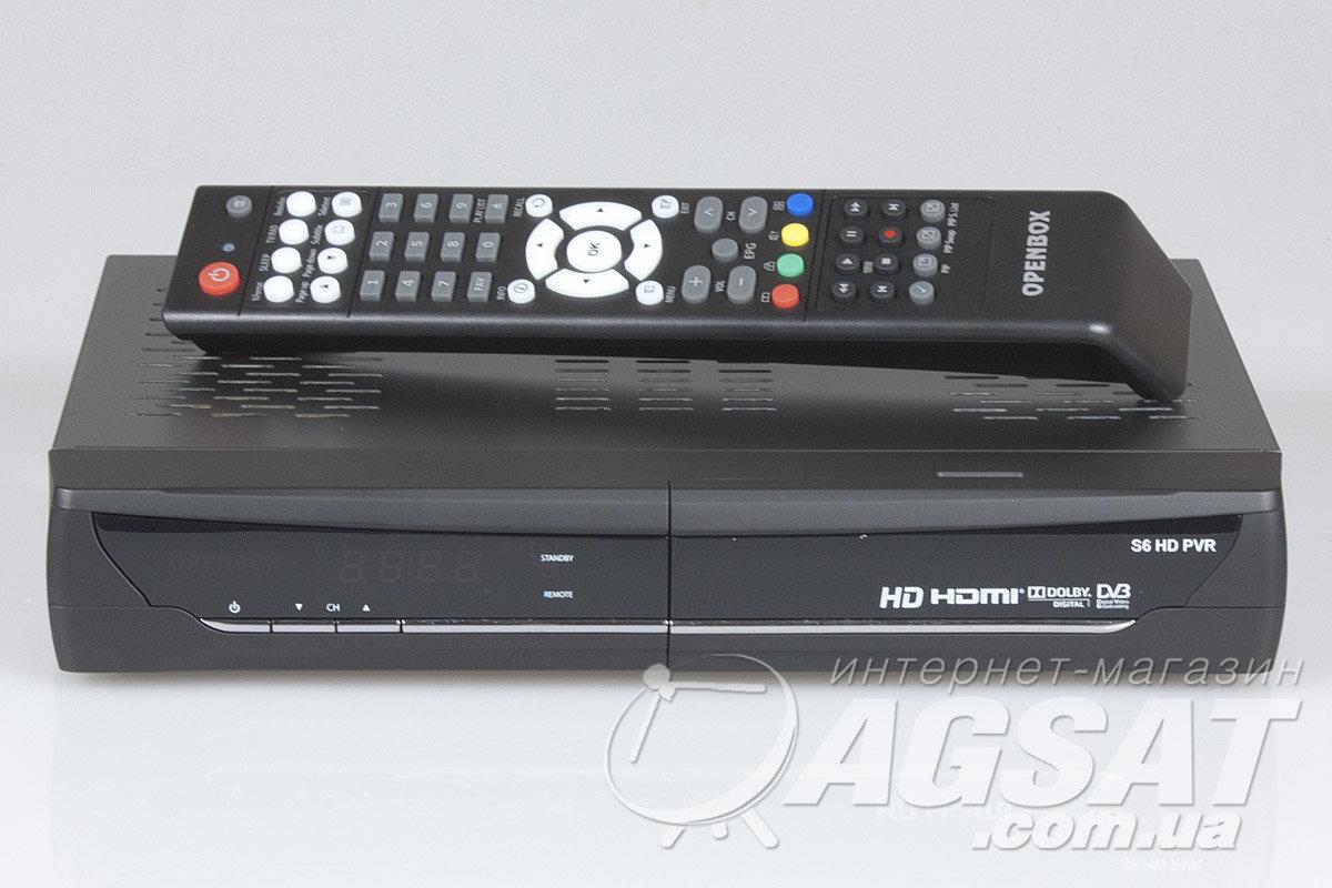 Спутниковый ресивер Openbox S6 HD PVR: цена, купить Openbox S6