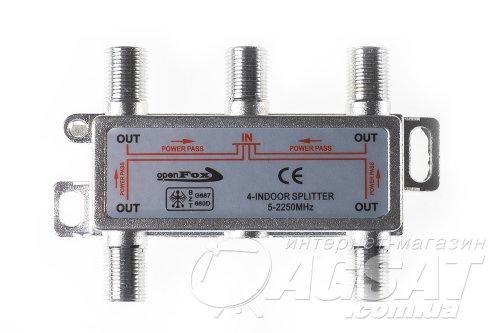SAT Split 4 way Openfox 5 - 2250МГц