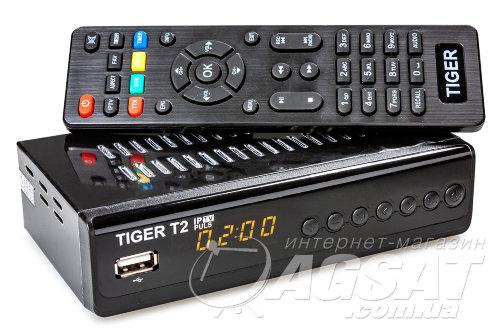 TIGER T2 IPTV PLUS за 335 грн. - тюнер Т2. Лучшая Цена Киев, Украина