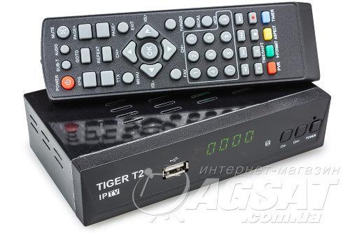 Tiger T2 IPTV за 369 грн. - эфирная Т2 приставка по низкой цене в Киеве.