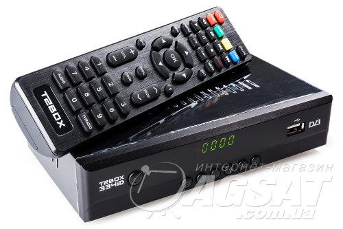 T2BOX-334iD – DVB-T2 приставка для телевидения. Цена, купить T2BOX-334iD в Киеве.
