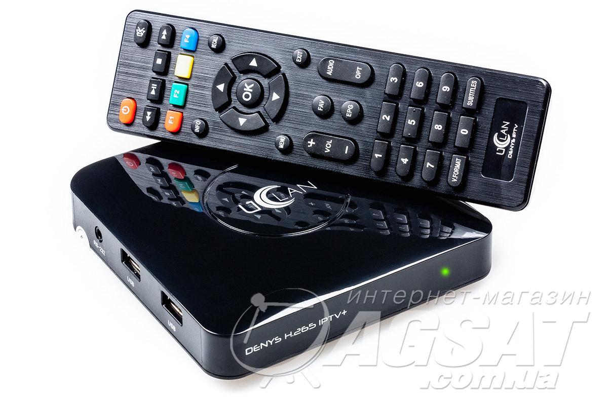 UCLAN Denys H.265 IPTV+ Plus отзывы. Обзоры и review Приставки Смарт ТВ (Smart TV Box).