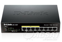 Switch D-Link DGS-1008P 8*1000Мbit (4*PoE) фото