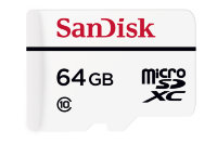 SanDisk 64GB microSDXC C10 W20MB/s High Endurance Video Monitoring