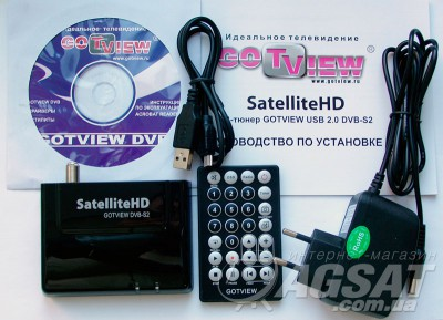 SatelliteHD GOTVIEW – USB2.0 DVB-S2 карта фото