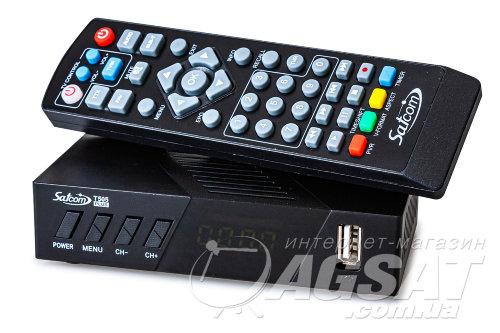 ТВ тюнер Т2 Satcom T505 PLUS: цена 399 грн., купить Satcom T505 PLUS в Киеве