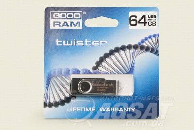 USB Flash GoodRam Twister 64GB фото