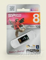 USB Flash Silicon Power Touch T02 8Gb фото
