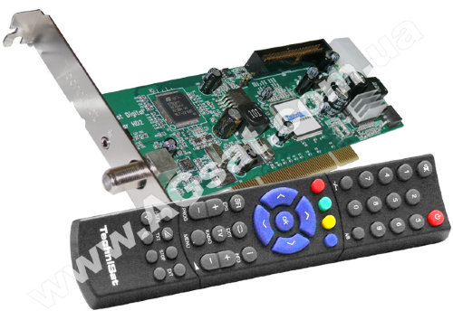 SkyStar HD2 TechniSat - DVB-S2 PCI карта + Пульт д / у (без диска) фото