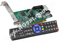 SkyStar HD2 TechniSat - DVB-S2 PCI карта  + Пульт д/у  (с диском) фото