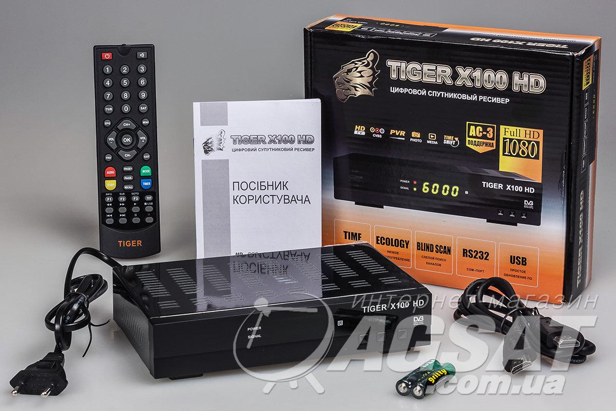 в Tiger X100 HD появилась поддержка T2MI