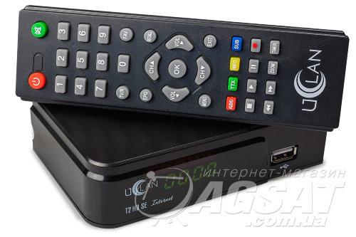 uClan T2 HD SE Internet за 305 грн. - эфирная Т2 приставка по низкой цене в Киеве.